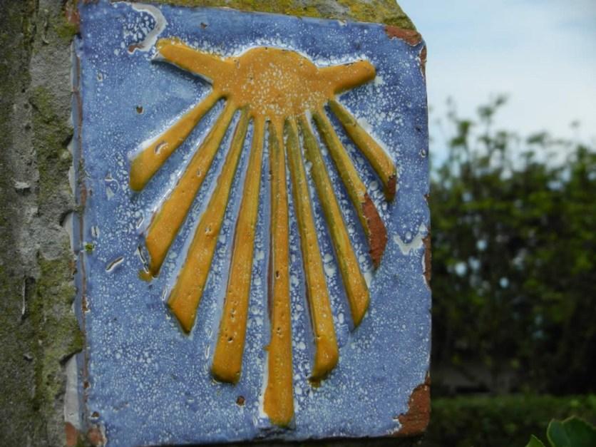 Symbol Muschel Jakobsweg