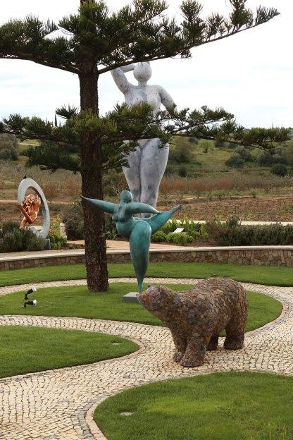 Figuren Parkanlage Quinta dos Vales