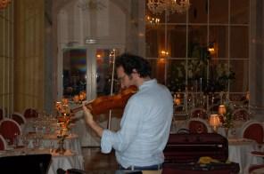 Violinenspieler Dinner Reid's Palace