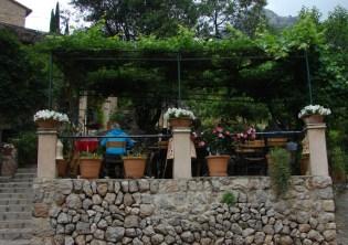 Kleines Cafe auf Mallorca Ausflugsziel