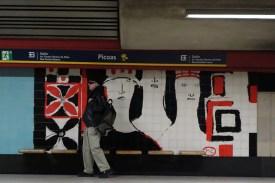 Picoas - Lissabonner Frauen - Kunst an der Metrohaltestelle