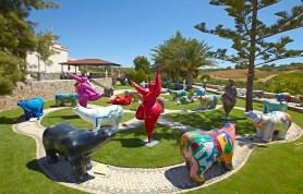 Skulpturengarten von Karl-Heinz Stock an der Algarve