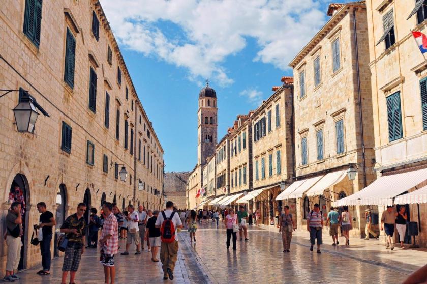 Flaniermeile Stradun, Dubrovnik