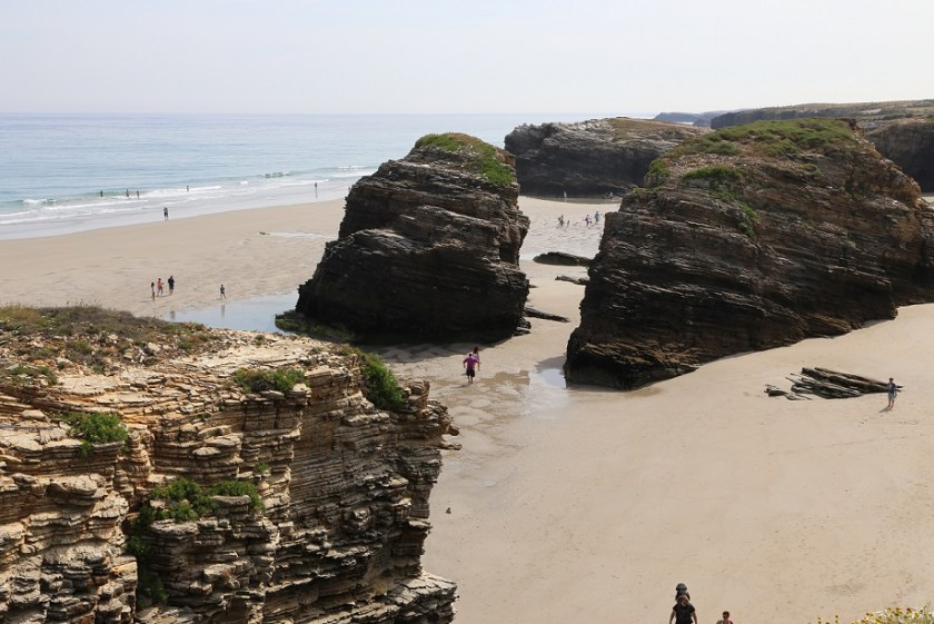 Playa las Catedrales, Galicien