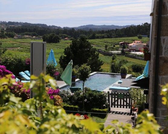 Poolbereich der Quinta San Amaro