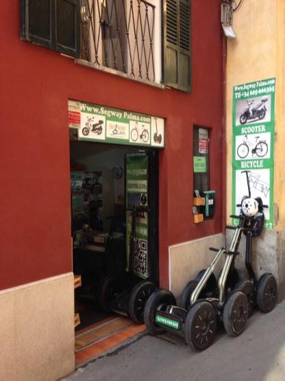 Altstadtbüro von Segway Palma