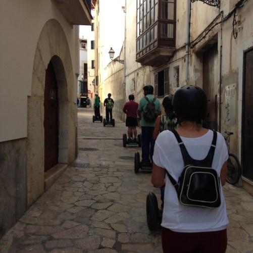 Segway-Tour durch die Altstadt von Palma de Mallorca