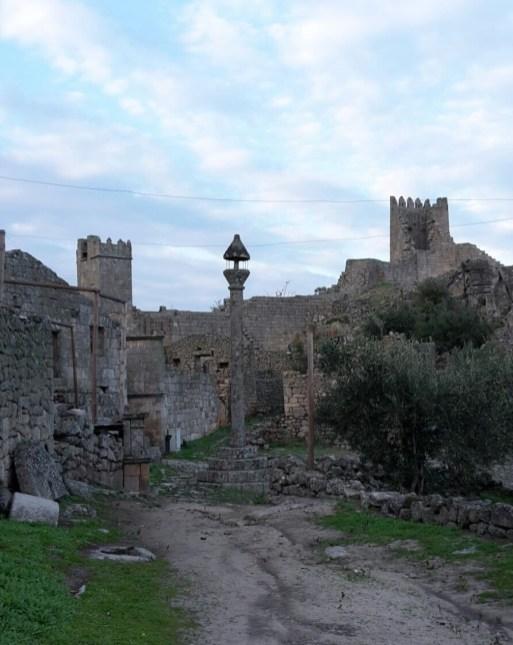 Historische Burganlage von Marialva