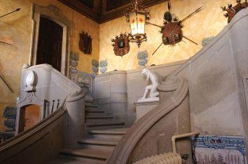 Treppenhaus Parador Casa da Ínsua