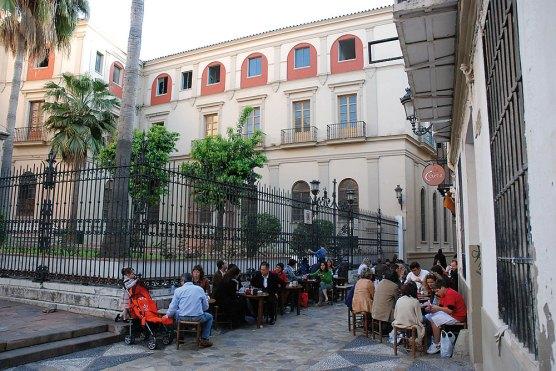 Taberna außen Andalusien