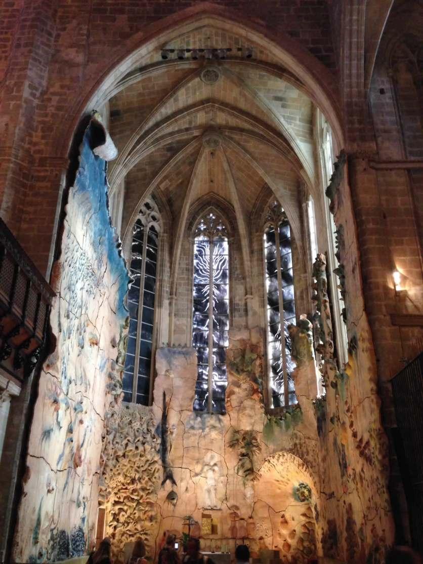 Seitenkapelle in der Kathedrale, gestaltet vom Künstler Miquel Barceló