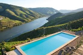 Pool mit Blick auf Douro Quinta da Veiga