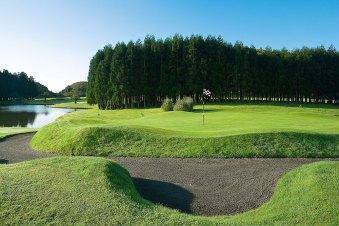 Azoren Golfplatz Furnas