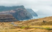 Straße zur Ponta de Sao Lourenco Madeira