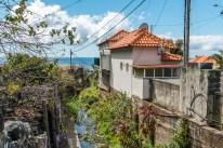 Häuser Bach Madeira