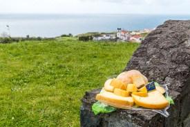 Käsespezialitäten auf den Azoren Sao Miguel