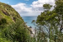 Steilküste und Meer im Osten von Sao Miguel Azoren