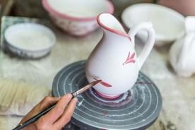 Kermamikmalerei Keramikfabrik Azoren