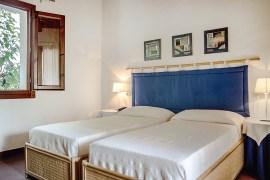 Doppelzimmer in der Villa Mediterranea auf Sizilien