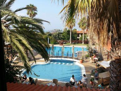 Frühstücksterrasse Galo Resort