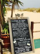 Menu Bahia BeachBar