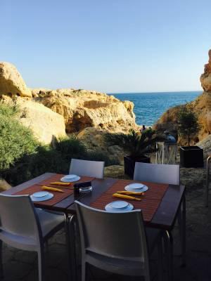 Sitzplatz Bonceca Bar Algarve