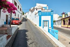 Straße in Portugal