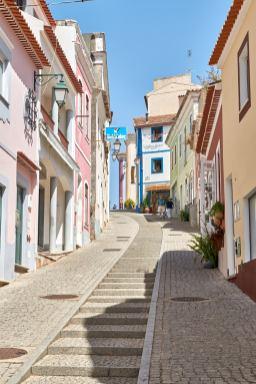 Gasse an der Algarve Monchique