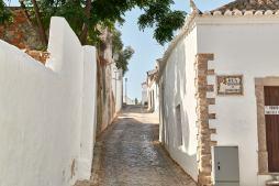 Gasse in Tavira Algarve