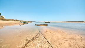 Boote Strand Cacela Velha