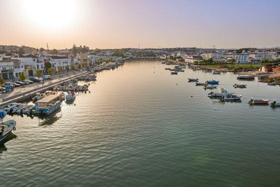 Hafen Tavira Algarve