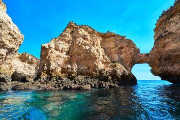 Felsen imposant ansehen Algarve