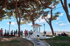 Aussichtspunkt oberhalb von Lissabon