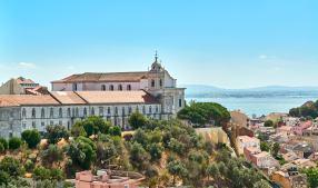 Panorama Lissabon Tejo