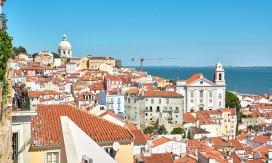 Ausblick Panorama Lissabon