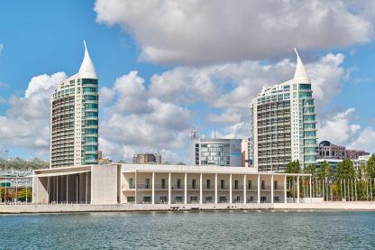 Gebäude Exo Gelände Lissabon