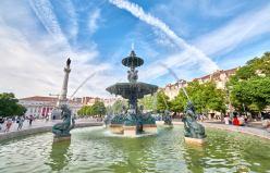 Brunnen in Lissabon