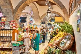 Lebensmittelgeschäft Altstadt Lissabon