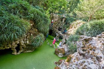 Wasserfall Quinta da Regaleira Sintra