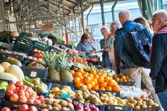 Markt Früchte Porto