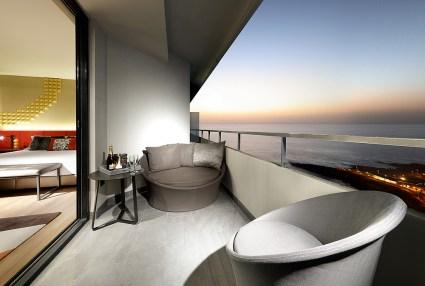 Ausblick Suite Hard Rock Hotel Tenerife