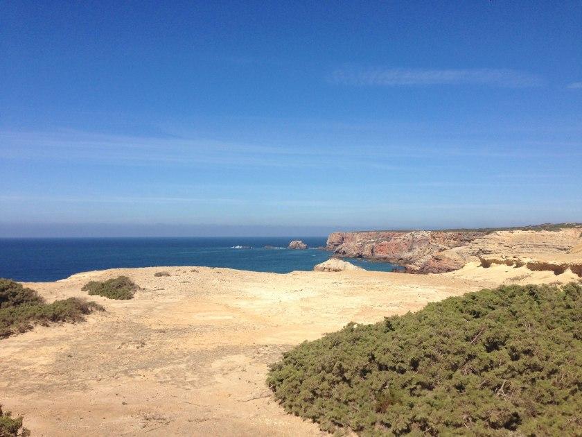 Panorama Küste Portugal Wanderung Rota Vicentina