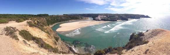 Rota Vicentina Panorama Praia Odeceixe Meer