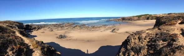 Panorama Praia da Foz dos Ouricos Rota Vicentina