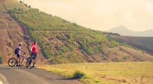 Pico do Facho Fahrrad und Wanderung