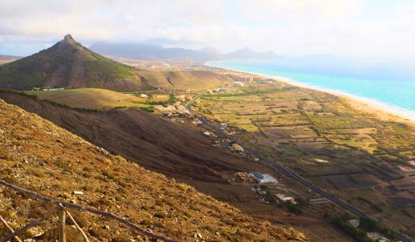 Ausblick Pico do Facho Porto Santo