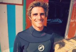 Surfer im urlaub auf Porto Santo