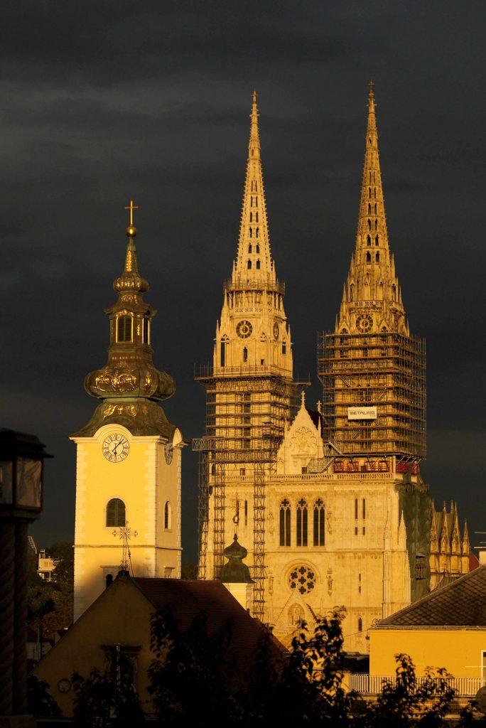 Kirche Dom Zagreb Ausflug