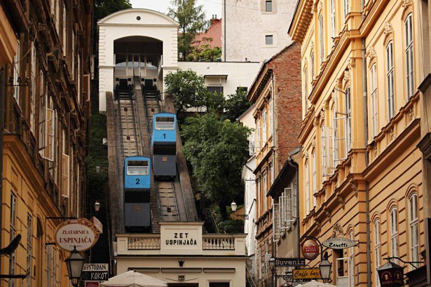 Sehenswürdigkeit Bergbahn Zagreb