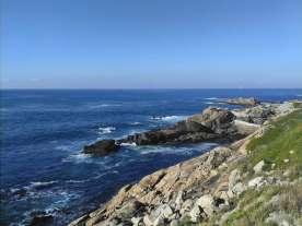 Küste von Coruna in Galicien